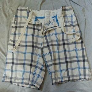 Aeropostale Flat Front Shorts